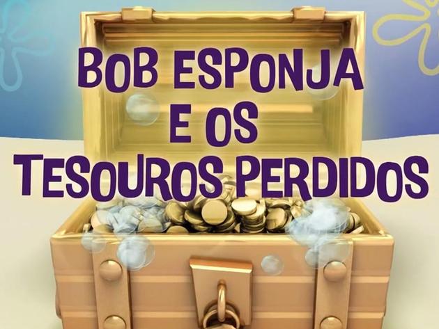 Bob Esponja | Short | Especial Bob Esponja e os Tesouros Perdidos!