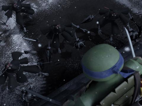 Las Tortugas Ninja | Short | Leo vs. Tortugas