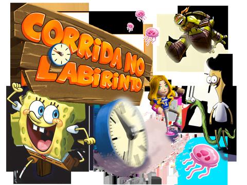 Bob Esponja – Corrida no Labirinto