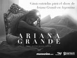 ¡Ganá entradas para el show de Ariana Grande en Argentina!