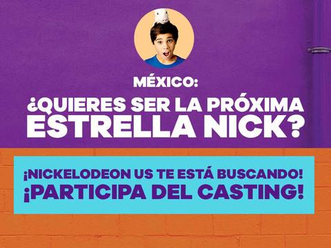 MÉXICO: ¡Participa del casting de Nick!