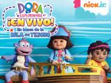 Gana Entradas para ver el show de Dora la exploradora, en búsqueda de la Isla del tesoro