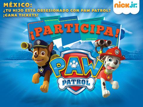 MÉXICO: ¡Participa por entradas al show de Paw Patrol para tu familia!