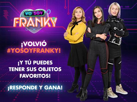 ¡Gana los objetos de Yo Soy Franky!