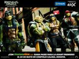 COLOMBIA: ¡Gana dos entradas para Tortugas Ninja 2, Fuera de las Sombras!