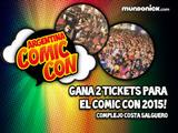 ¡Ganá entradas para el Comic Con en Argentina!