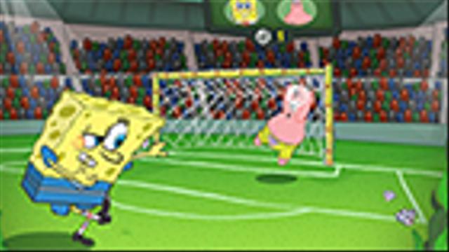 Bob Esponja  Ftbol de Burbujas  Nickelodeon