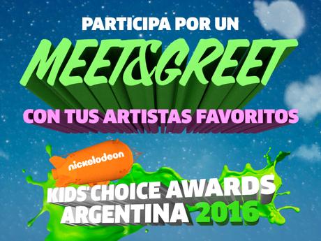 ¡Participa por pases para conocer a tus artistas favoritos de KCA Argentina 2016!
