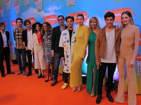Alfombra Naranja Parte 1 - Kids Choice Awards Argentina 2016
