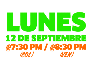 2016 KCA Tune In time & date (transmision) colombia
