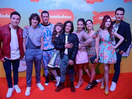 Alfombra Naranja Parte 1 - Kids Choice Awards Colombia 2016