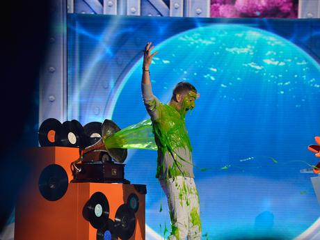 Grandes Momentos de Slime - Kids Choice Awards Mexico 2016