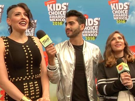 KCA MEXICO 2016 | ORANGE CARPET | HAASH recibe el premio Agentes de Cambio