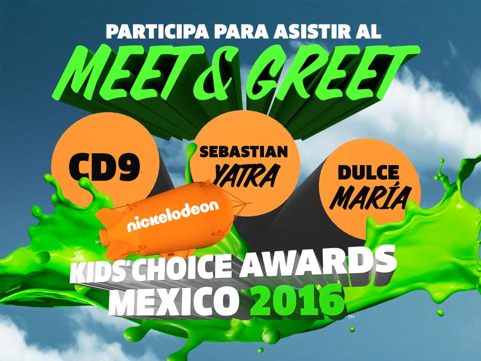 KCA MÉXICO: ¡Participa por un Meet & Greet con Dulce María, Sebastián Yatra y CD9!