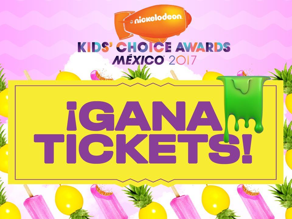 ¡Participa por entradas para asistir a los Kids' Choice Awards México 2017!