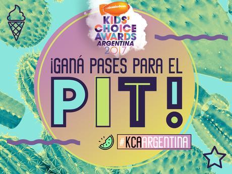 ¡Participá por entradas al PIT de los Kids' Choice Awards Argentina 2017!