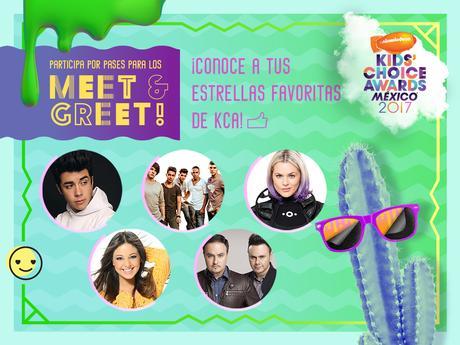 Participa por la oportunidad de conocer a tus estrellas favoritas de los KCA México 2017