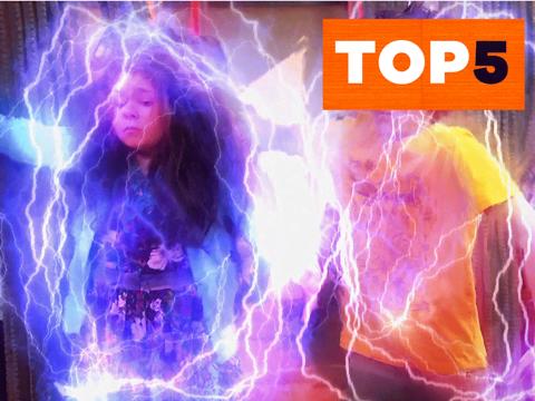The Thundermans | Short | Top 5 jugando con superpoderes