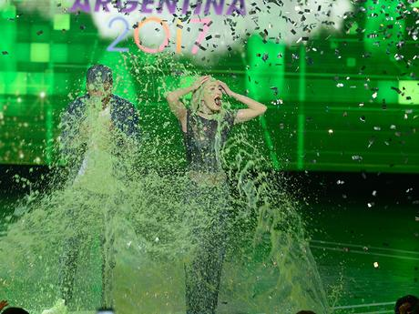 Momentos Slime - Kids' Choice Awards Argentina 2017