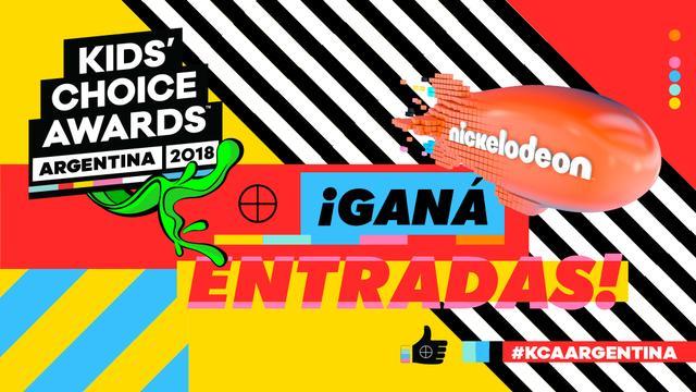 ¡Participá por entradas para los Kids' Choice Awards Argentina 2018!