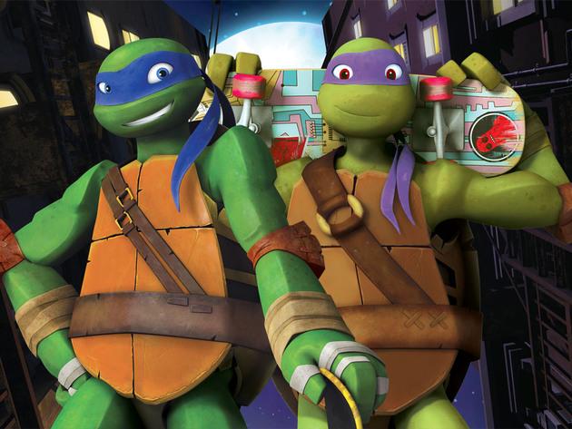 Las Tortugas Ninja | Short | Donnie vs. Leo: Movimientos