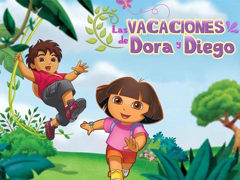 Las vacaciones de Dora y Diego