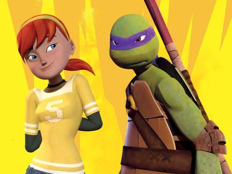 Las Tortugas Ninja | ¡Abril y Donnie!