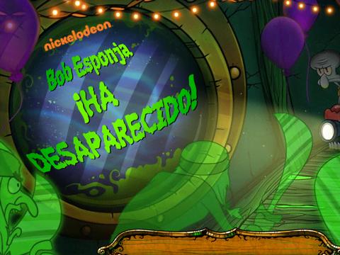 Bob Esponja: ¡Ha desaparecido!
