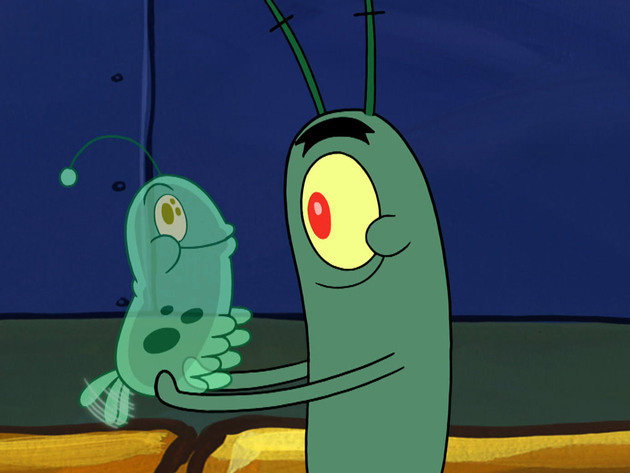 Bob Esponja | Short | La mascota de Plankton
