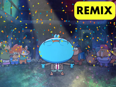Harvey Beaks | Short | Remix para dançar