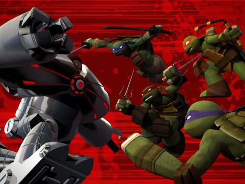 Las Tortugas Ninjas |Short | Batalla contra Baxter