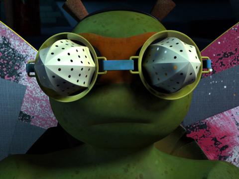 Las Tortugas Ninjas | Short| Mikey, la Mosca
