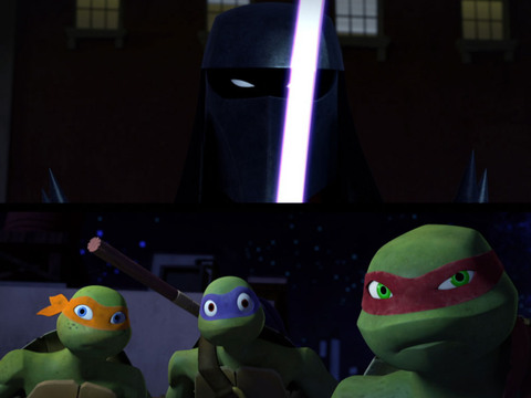Tortugas Ninja | Short | Cabeza Cromada