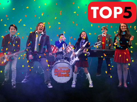 School of Rock | Short | Top 5 Canciones para festejar Rockeando