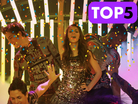 Victorious | Short | Top 5 Canciones para Karaoke