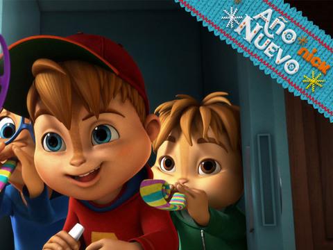 Alvin y las Ardillas | Short | Año nuevo con Amigos
