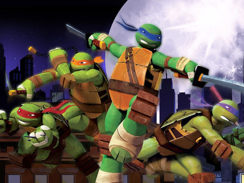 Tortugas Ninja: ¡Tortugas a la carrera!