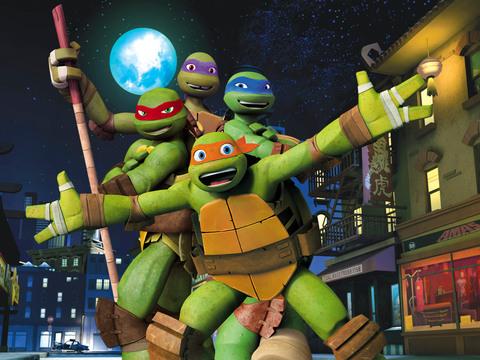 Las Tortugas Ninja | ¡Amigos Tortugas!