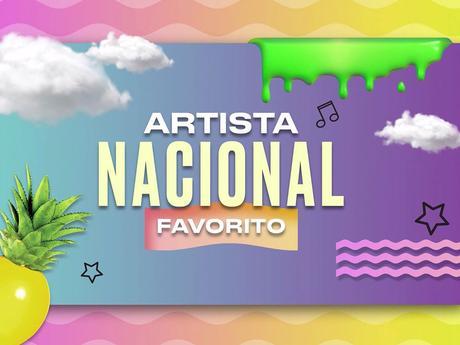 KCA México 2017 | Nominados a Artista o Grupo Nacional Favorito
