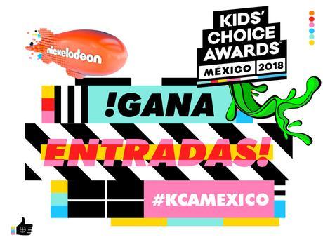 ¡Participa por entradas para los Kids' Choice Awards México 2018!