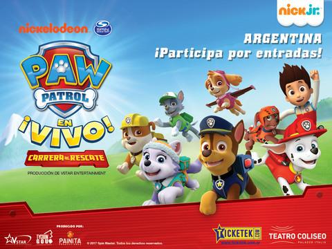 ARGENTINA: ¡Participa por entradas al show de Paw Patrol para tu familia!