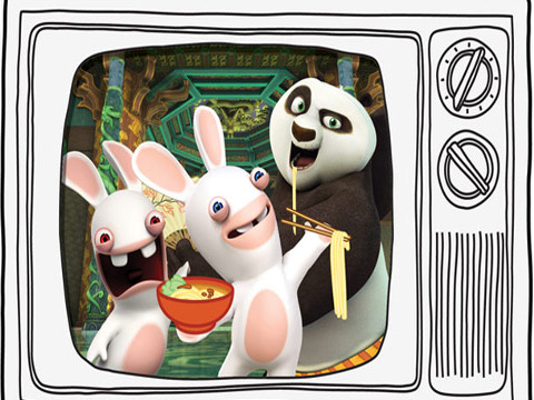 Rabbids: A Invasão - Os Rabbids Invadem a Nickelodeon!
