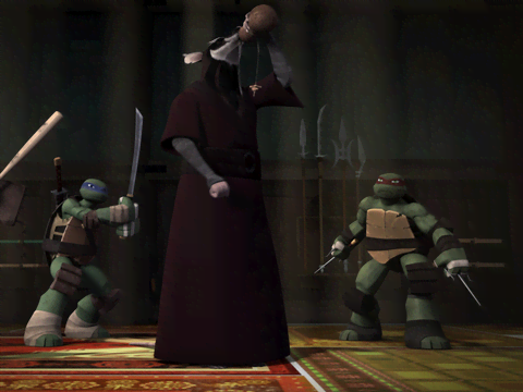 Tortugas Ninja | Short | La técnica del borracho