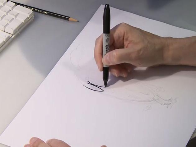 PIG, GOAT, BANANA, CRICKET | SHORT | Cómo dibujar a Banana