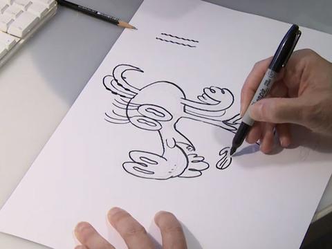 PIG, GOAT, BANANA, CRICKET | SHORT | Cómo dibujar a Cabra