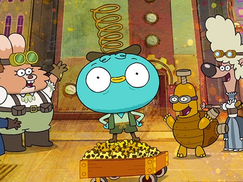 Harvey Beaks | S2 | Episódio 01 | Steampunks Parte 1