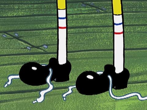 BOB ESPONJA | SHORT | Bob olvida cómo atar sus cordones