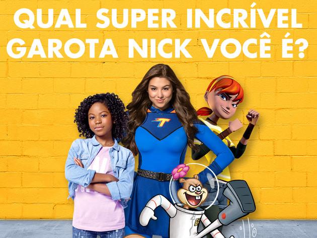 Bob Esponja | Jogos | Qual Super Incrível Garota Nick Você É?