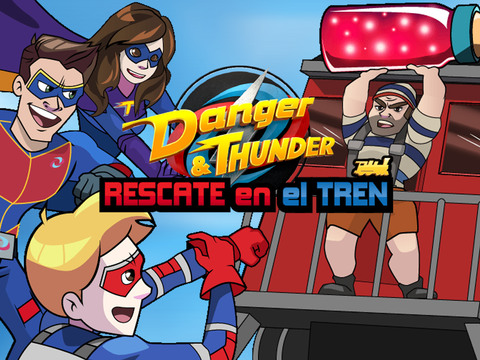 Nickelodeon: Danger and Thunder Rescate en el Tren