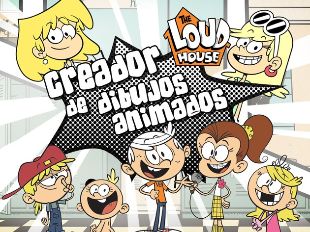 Loud House: Creador de Dibujos Animados